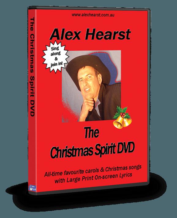 ALEX HEARST: CHRISTMAS SPIRIT (DVD)