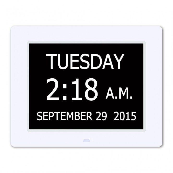Hurrah-Extra-Large-Memory-Loss-Digital-Calendar-Day-Clock-with-Non-Abbreviated-Day