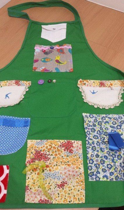 ladies pocket fiddle apron